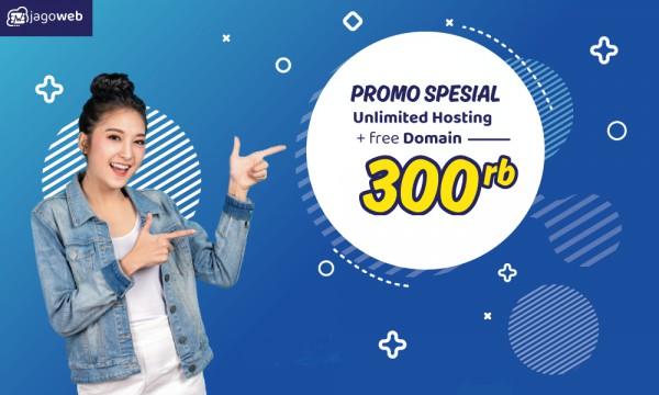 Promo Ceria Juli, Hosting Unlimited Gratis Domain!