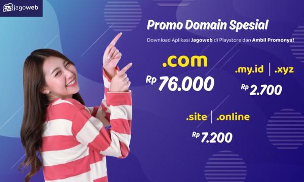 Juli Ceria, Promo Domain .com MURAH!!