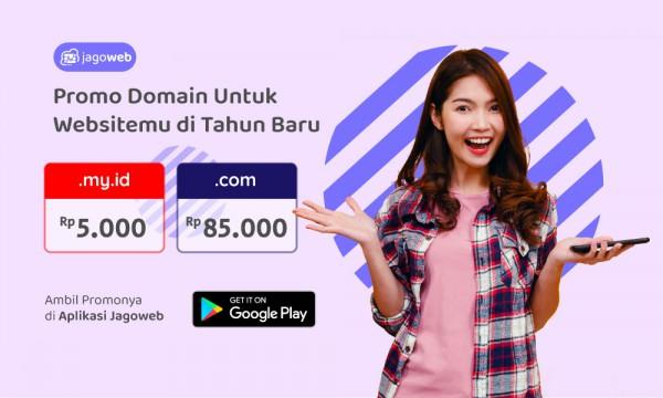 New Year, Promo Domain Fantastis JagoWeb