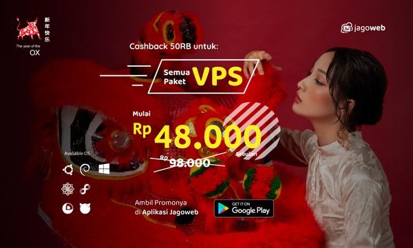 Gong Xi Fa Cai Promo VPS Cashback 50%