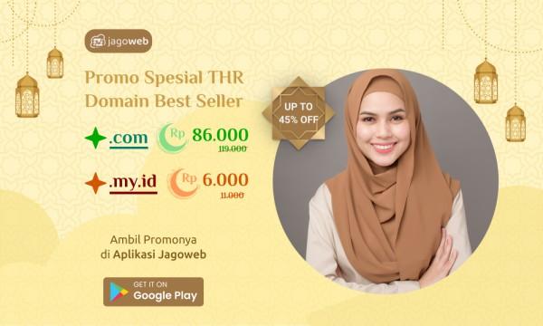Promo Domain Spesial THR