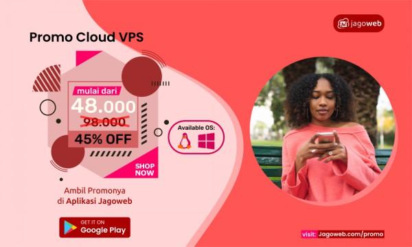 Juni Hemat Promo VPS Cashback 45%