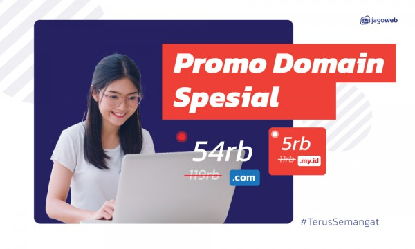 Promo Domain Spesial Kemerdekaan Upto 45%