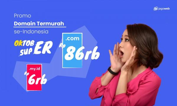 Oktober Super, Promo Domain Termurah Se-Indonesia