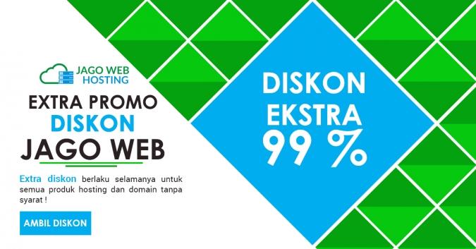 Ambil Diskon Ektra 99% Order Hosting Ke-9
